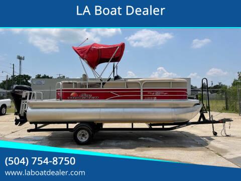 2016 Sun Tracker 20 DLX for sale at LA Boat Dealer - Pontoon Boats in Metairie LA