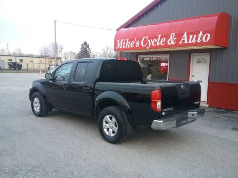 2012 Nissan Frontier for sale at MIKE'S CYCLE & AUTO in Connersville IN