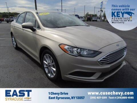 2017 Ford Fusion for sale at East Syracuse Performance Sales & Service in Syracuse NY