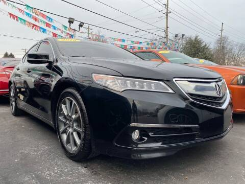 2016 Acura TLX for sale at WOLF'S ELITE AUTOS in Wilmington DE