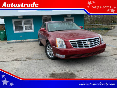 2008 Cadillac DTS for sale at Autostrade in Indianapolis IN