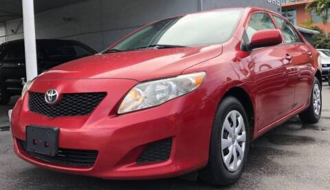2010 Toyota Corolla for sale at Meru Motors in Hollywood FL