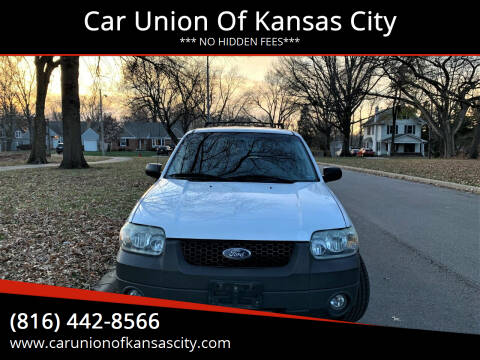 2005 Ford Escape for sale at Car Union Of Kansas City in Kansas City MO