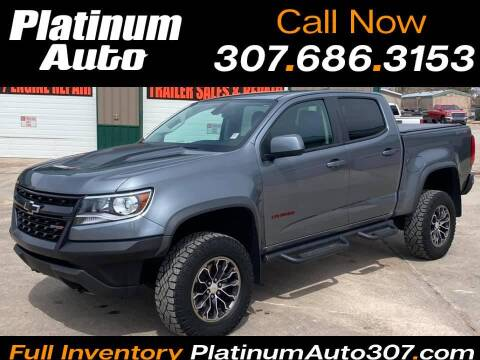 2018 Chevrolet Colorado for sale at Platinum Auto in Gillette WY