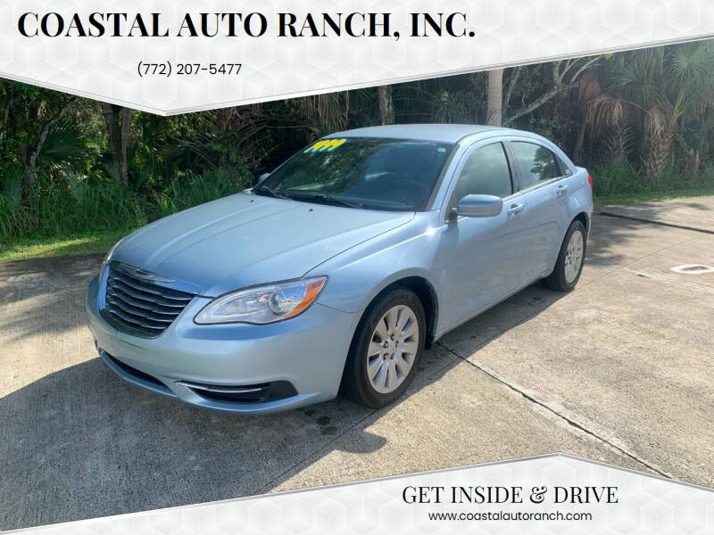 2014 Chrysler 200 for sale at Coastal Auto Ranch, Inc. in Port Saint Lucie FL