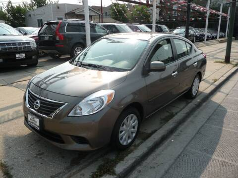 2012 Nissan Versa for sale at CAR CENTER INC in Chicago IL
