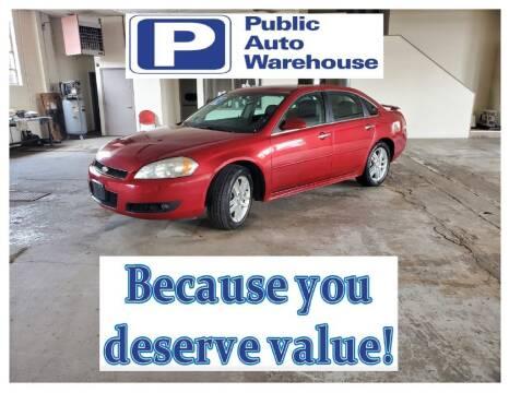 2014 Chevrolet Impala Limited for sale at Public Auto Warehouse in Pekin IL