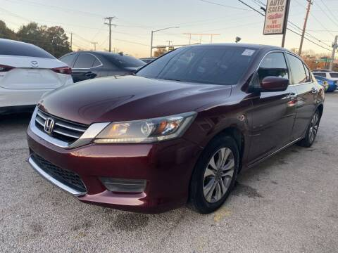 2015 Honda Accord for sale at Pary's Auto Sales in Garland TX