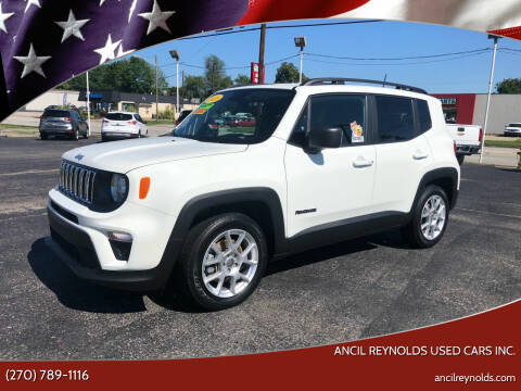 2020 Jeep Renegade for sale at Ancil Reynolds Used Cars Inc. in Campbellsville KY