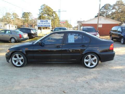 2005 BMW 3 Series for sale at W & D Auto Sales in Fayetteville NC