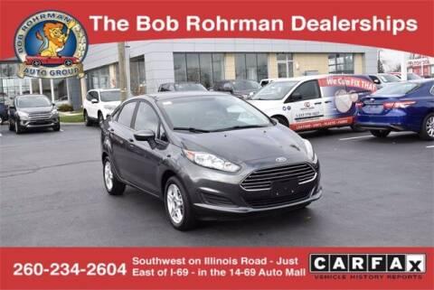 2019 Ford Fiesta for sale at BOB ROHRMAN FORT WAYNE TOYOTA in Fort Wayne IN