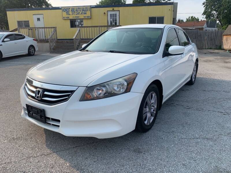 2012 Honda Accord for sale at Honest Abe Auto Sales 2 in Indianapolis IN