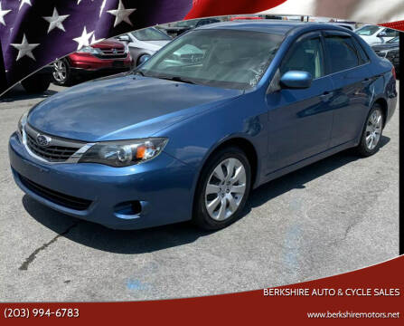 2009 Subaru Impreza for sale at Berkshire Auto & Cycle Sales in Sandy Hook CT