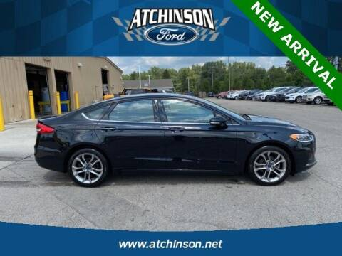 2020 Ford Fusion for sale at Atchinson Ford Sales Inc in Belleville MI
