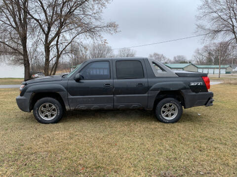 2003 Chevrolet Avalanche for sale at Velp Avenue Motors LLC in Green Bay WI