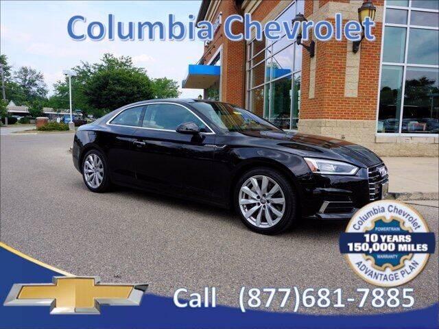 2018 Audi A5 for sale at COLUMBIA CHEVROLET in Cincinnati OH