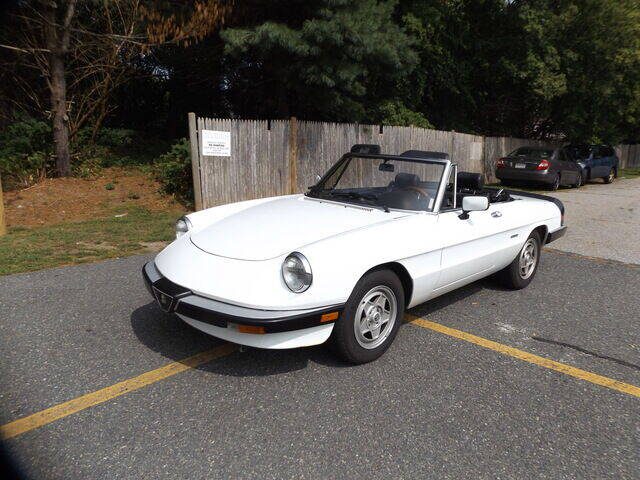 1989 Alfa Romeo Spider for sale at Wayland Automotive in Wayland MA