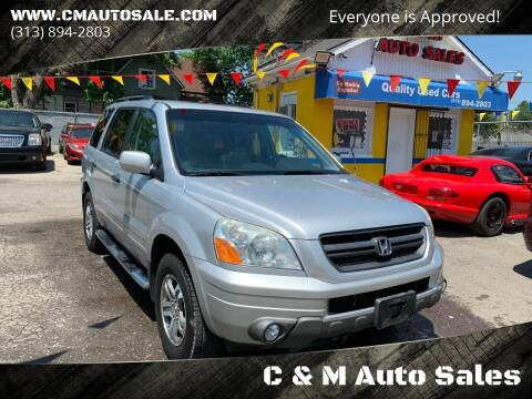 2005 Honda Pilot for sale at C & M Auto Sales in Detroit MI