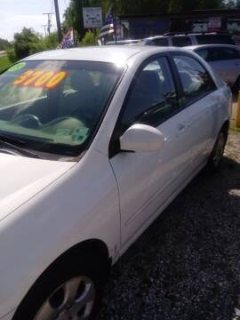2009 Kia Spectra for sale at Finish Line Auto LLC in Luling LA