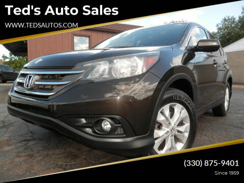 2014 Honda CR-V for sale at Ted's Auto Sales in Louisville OH