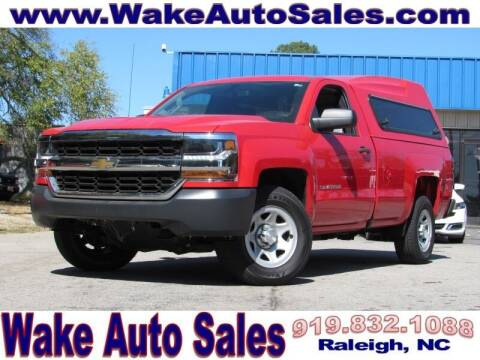 2016 Chevrolet Silverado 1500 for sale at Wake Auto Sales Inc in Raleigh NC