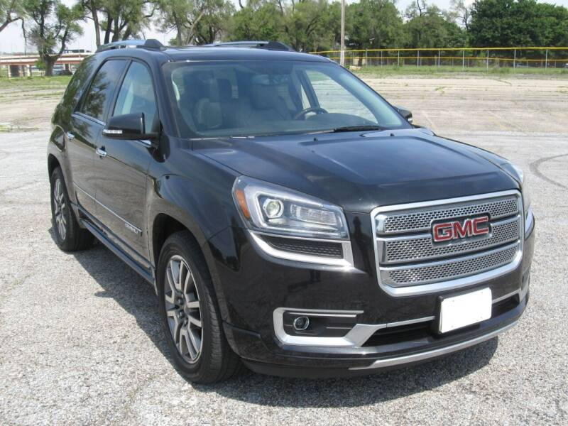 2013 GMC Acadia for sale at Burhill Leasing Corp. in Dayton OH