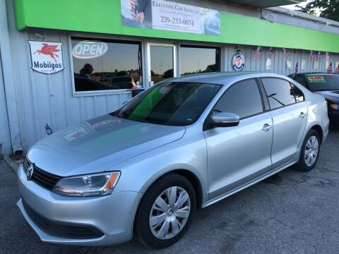 2011 Volkswagen Jetta for sale at EXECUTIVE CAR SALES LLC in North Fort Myers FL