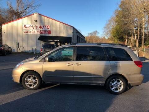 2004 Toyota Sienna for sale at Buddy's Auto Inc in Pendleton SC
