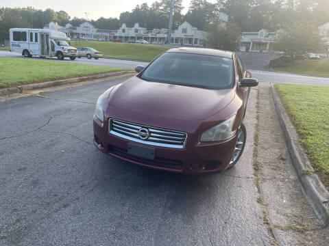 2012 Nissan Maxima for sale at BRAVA AUTO BROKERS LLC in Clarkston GA
