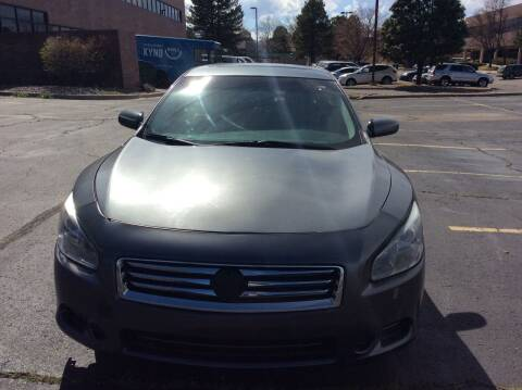 2014 Nissan Maxima for sale at AROUND THE WORLD AUTO SALES in Denver CO