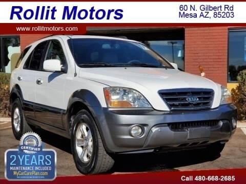 2008 Kia Sorento for sale at Rollit Motors in Mesa AZ