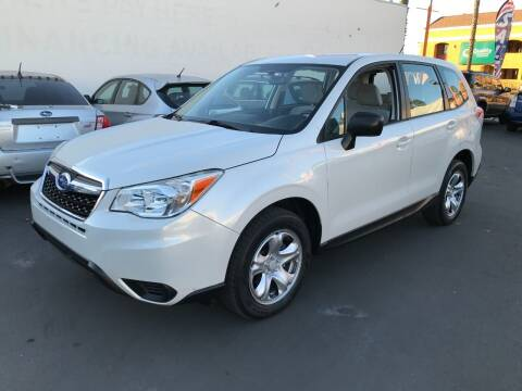 2014 Subaru Forester for sale at Shoppe Auto Plus in Westminster CA