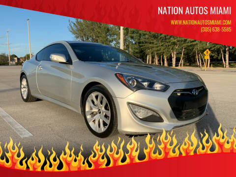 2013 Hyundai Genesis Coupe for sale at Nation Autos Miami in Hialeah FL