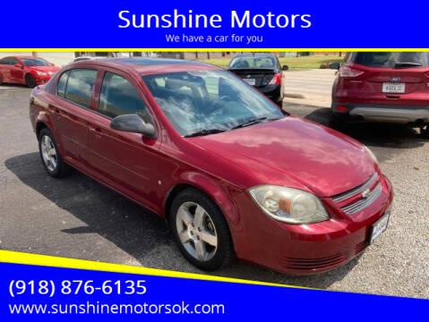 2009 Chevrolet Cobalt for sale at Sunshine Motors in Bartlesville OK