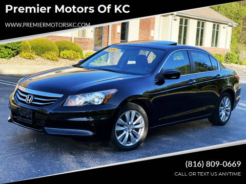 2011 Honda Accord for sale at Premier Motors of KC in Kansas City MO