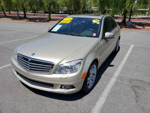 2010 Mercedes-Benz C-Class for sale at ALL CREDIT AUTO SALES in San Jose CA