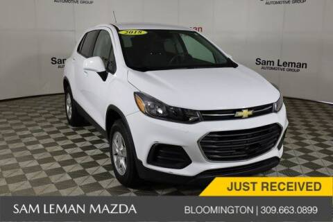 2018 Chevrolet Trax for sale at Sam Leman Mazda in Bloomington IL