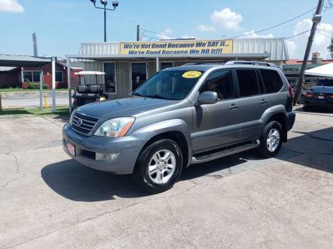 2006 Lexus GX 470 for sale at Taylor Trading Co in Beaumont TX