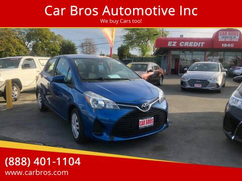 2016 Toyota Yaris for sale at Car Bros Automotive Inc in Lomita CA