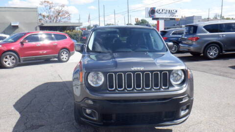 2017 Jeep Renegade for sale at Quattro Motors 2 - 1 in Redford MI