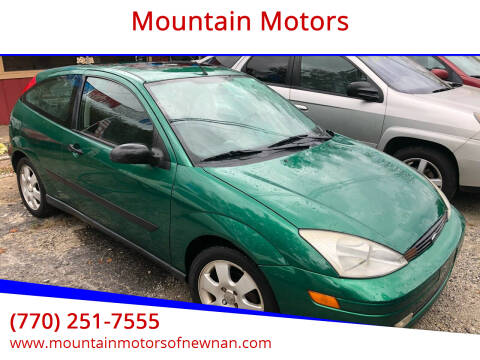 2002 Ford Focus for sale at Mountain Motors in Newnan GA