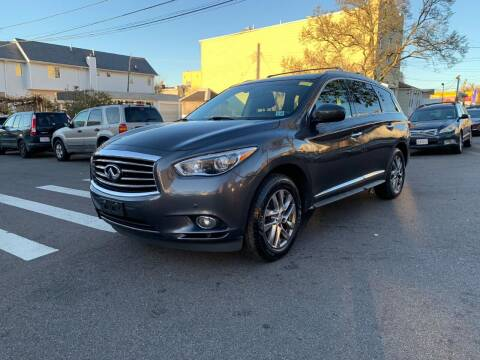 2014 Infiniti QX60 for sale at Kapos Auto, Inc. in Ridgewood, Queens NY