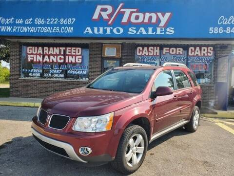 2008 Pontiac Torrent for sale at R Tony Auto Sales in Clinton Township MI