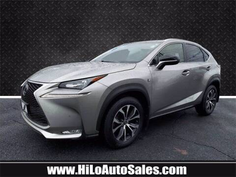 2017 Lexus NX 200t for sale at Hi-Lo Auto Sales in Frederick MD