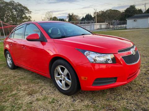 2014 Chevrolet Cruze for sale at Cutiva Cars in Gastonia NC