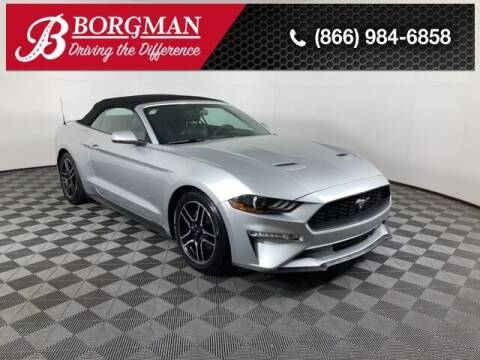2018 Ford Mustang for sale at BORGMAN OF HOLLAND LLC in Holland MI