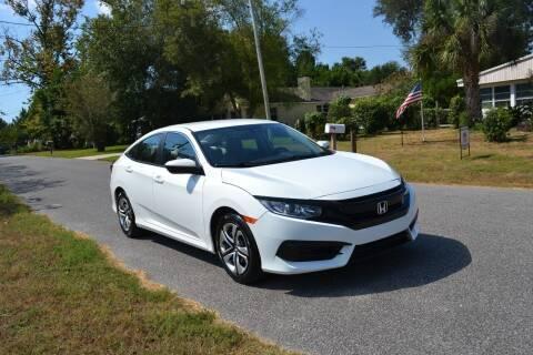 2016 Honda Civic for sale at Car Bazaar in Pensacola FL
