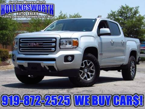 2017 GMC Canyon for sale at Hollingsworth Auto Sales in Raleigh NC