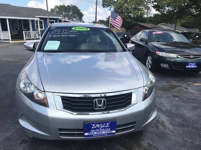2009 Honda Accord for sale at EAGLE AUTO SALES in Lindale TX