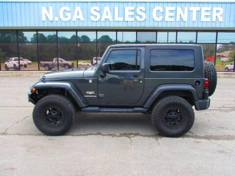 2010 Jeep Wrangler for sale at NORTH GEORGIA Sales Center in La Fayette GA